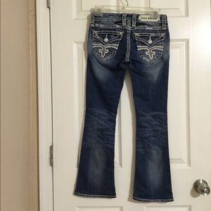 Rock Revival Abbie Bootcut jeans size 25